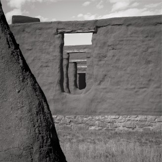 Fort Union, once an important military outpost on the Santa Fe Trail, northeastern NM.