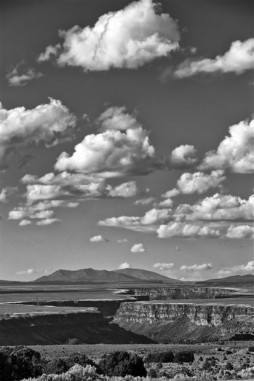 On the road to Taos.