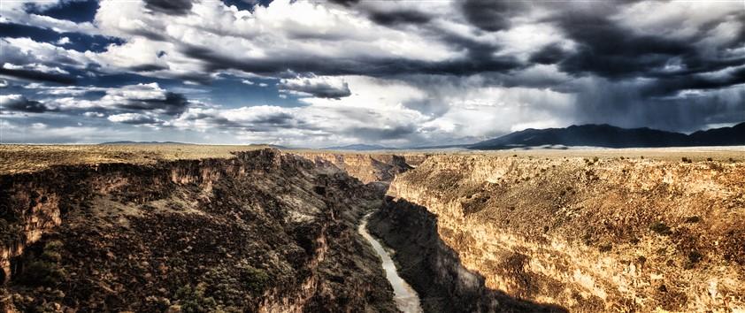 Rio Grande gorge near Taos, NM.