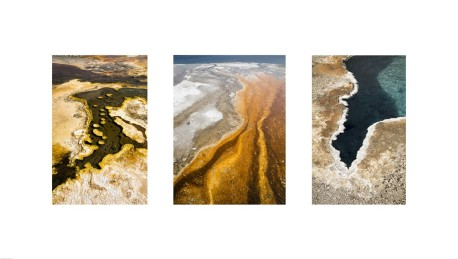 The hot springs and pools at Yellowstone National Park provide endless variations of color and abstraction.